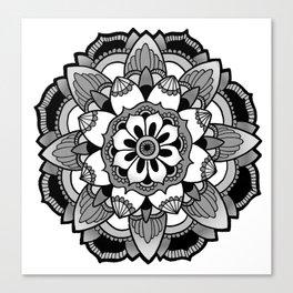 Mandala V4 Canvas Print