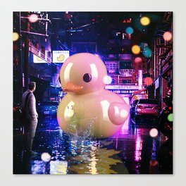 Rubber Duck Alley Canvas Print
