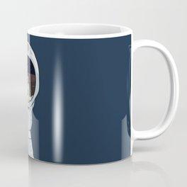 hand with reflecting space Coffee Mug