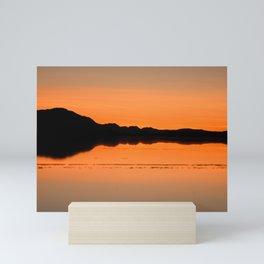 Salar de Uyuni 4 Mini Art Print