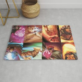 Street Fighter Favorites Rug