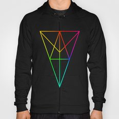Rainbow Geometry Hoody