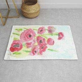 Pink Poppy Dream Rug