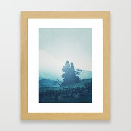 Mist under Uniki Framed Art Print