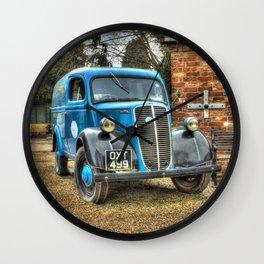 Fordson Van Wall Clock