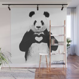 All you need is love Wall Mural