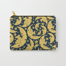 Happy halloween  moon pattern Carry-All Pouch