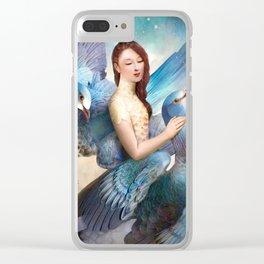 Sky Dancers Clear iPhone Case
