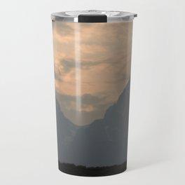 Grand Tetons at Sunset Travel Mug