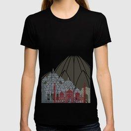 Delhi skyline poster T-shirt