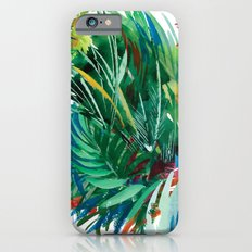 Tropical Watercolor Pattern iPhone 6s Slim Case