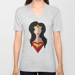 WonderWoman Unisex V-Neck