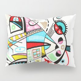 SHAPES IN LOVE WITH EACH OTHER Pillow Sham
