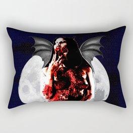 Devil Girl 2 Rectangular Pillow