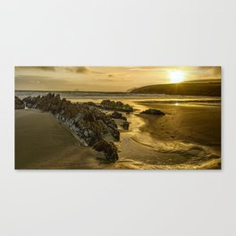 St Finan's Bay, Ireland Canvas Print