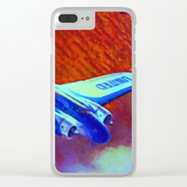 Boeing Model 247 Clear iPhone Case