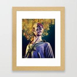 Frankenstein's Creature Framed Art Print