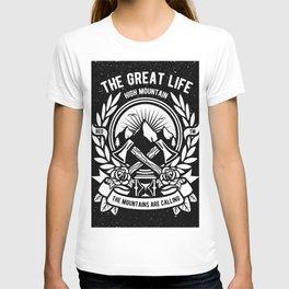 Mountains Adventure T-shirt