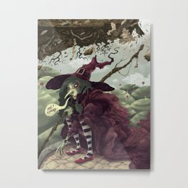 Wicked Witch of the East Metal Print