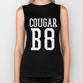 Cougar B8 (Bait) Funny Team Jersey On the Prowl Biker Tank