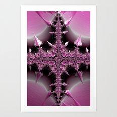 Cross Of Thorns Art Print
