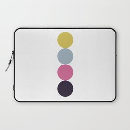 Four colorful circles Laptop Sleeve