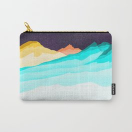 Three Sisters Mountains Carry-All Pouch
