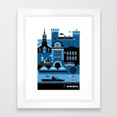 Tallinn Framed Art Print