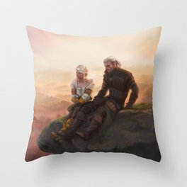 The Witcher Throw Pillow