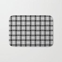 Light Gray Weave Bath Mat