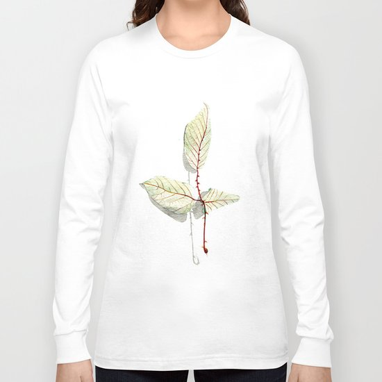 Autumn leaf of berrie Long Sleeve T-shirt