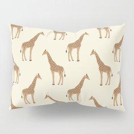 Giraffe animal minimal modern pattern basic home dorm decor nursery safari patterns Pillow Sham