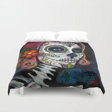 Sugar Skull Candy Duvet Cover