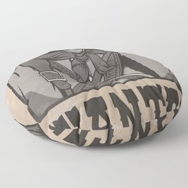 WANTED: SENOR UNDERPANTS Floor Pillow