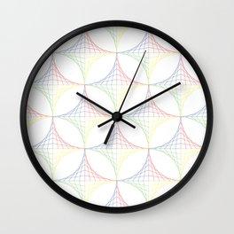 Straight Lines Wall Clock