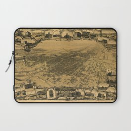Map of Stockton 1895 Laptop Sleeve