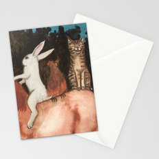 The Singing Cat Stationery Cards