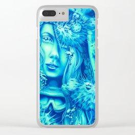 Neptune's Apprentice Clear iPhone Case