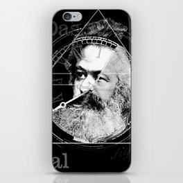 The Time of Marx Dark iPhone Skin