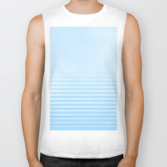 Sweet Life Collection Gradient Blue Raspberry Biker Tank