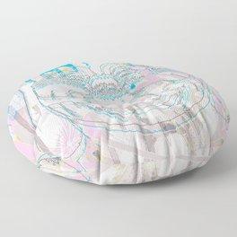 Buddha-Love & Butterfly Floor Pillow