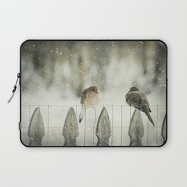 Weathering the Snow Laptop Sleeve