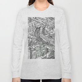 The Town of Train 2 Long Sleeve T-shirt