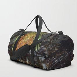 Caiman Lizard Duffle Bag