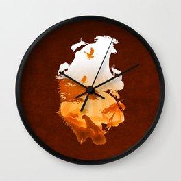 Tigers Realm Wall Clock