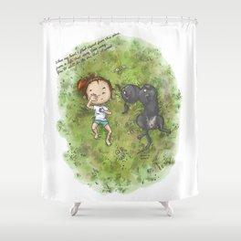 komorebi Shower Curtain