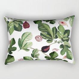 Figs White Rectangular Pillow