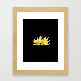 The Demon Fox Within Framed Art Print