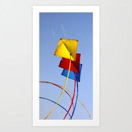 flying aces 01 Art Print