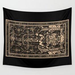 Sala Tumba de Pakal Wall Tapestry